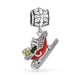 Pandora Santas Sleigh Christmas Dangle Charm