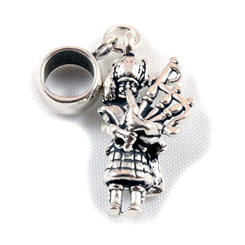 Pandora Scottish Piper 3D Charm