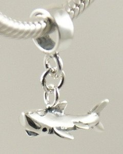 Pandora Shark Dangle Charm