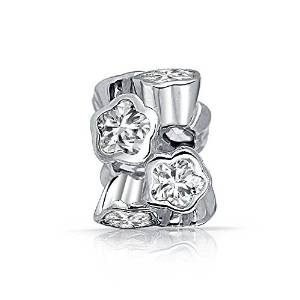 Pandora Silver Clear April Birthstone Set Charm smaller image