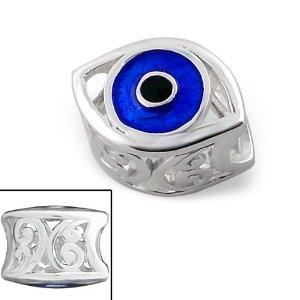Pandora Silver Evil Eye Evil Charm Best Selling Jewellery Charms In Uk