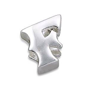 Pandora Silver Letter F Charm