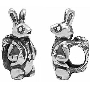 Pandora Silver Rabbit With Bag Charm