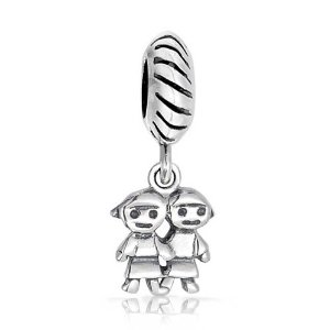 Pandora Sisters Dangle Twist Charm