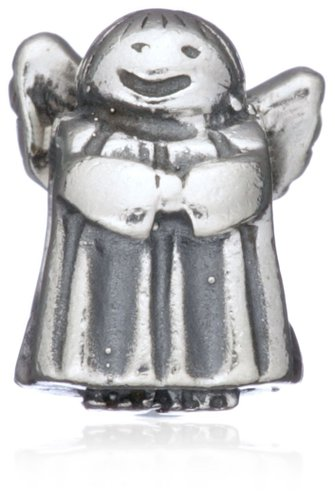 Pandora Small Guardian Angel Silver Charm image