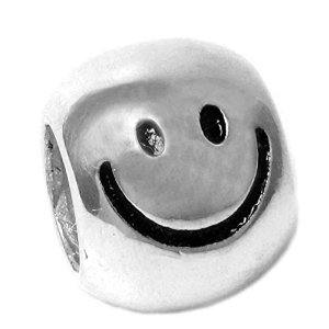 Pandora Smiley Happy Face Charm image