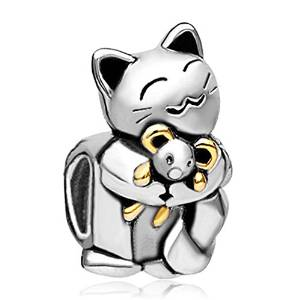 Pandora Smiling Pet Cat Charm