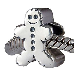 Pandora Solid Christmas Ginger Bread Charm