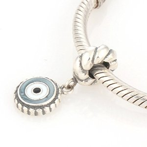 Pandora Solid Dangle Bulls Eye Charm
