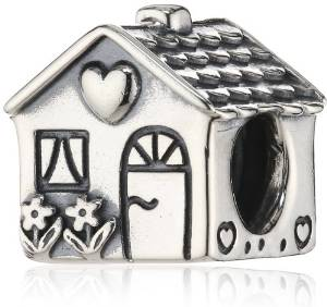 Pandora Solid Silver House Charm