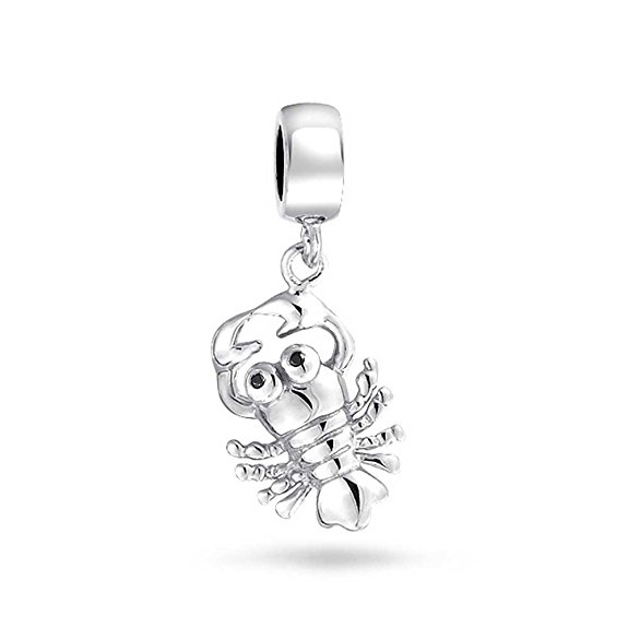 Pandora Solid Silver Lobster Charm image
