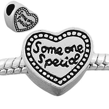 Pandora Someone Special Heart Shaped Silver Plated Charm
