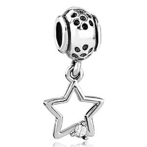 Pandora Star Dangle Crystals Charm
