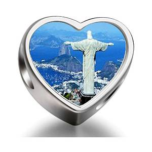 Pandora Statue Of Christ Photo Charm