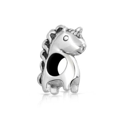Pandora Sterling Silver Unicorn Cute Charm
