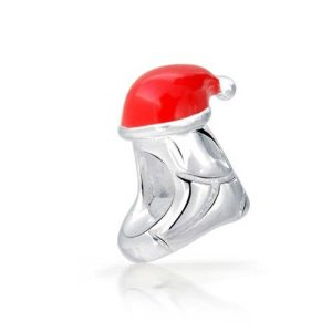 Pandora Stocking Red Hat Charm
