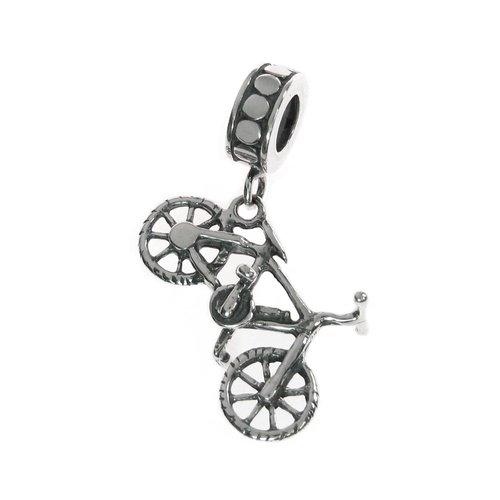 Pandora Tandem Bicycle Bike Charm