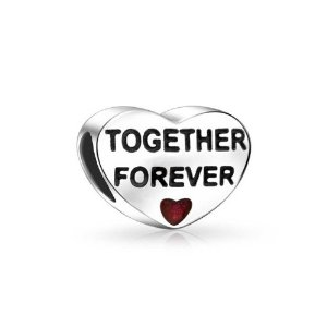 Pandora Together Forever Red Heart Charm