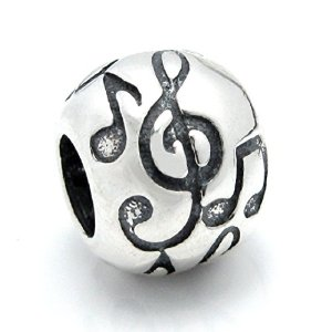 Pandora Treble G Clef Melody Music Note Charm