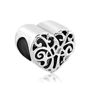 Pandora Tree Of Life Heart Filigree Charm