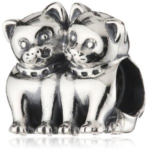 82782cb27 Pandora Twin Cats Silver CharmBest Selling Jewellery Charms in UK ...