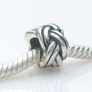 Pandora Twisted Knot Spacer Sterling Silver Charm image