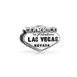 Pandora Welcome To Las Vegas Travel Charm