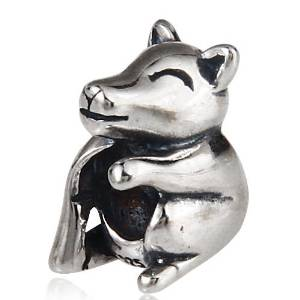 Pandora Wolf Sterling Silver Charm