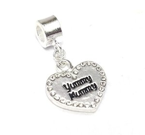 Pandora Yummy Mummy Heart Dangle Charm
