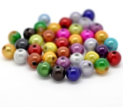 Set Of 100Acrylic Miracle Bead